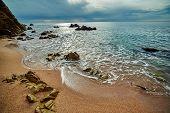 Coast of Lloret de Mar