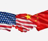 China And Us Handshake