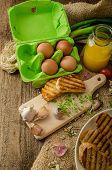 Scrambled Eggs, Creamy And Fluffy