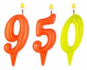 Candles Number Nine Hundred Fifty