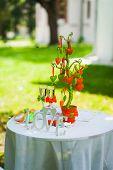 wedding settings for outdoors celebration