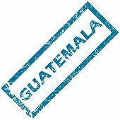 Guatemala rubber stamp