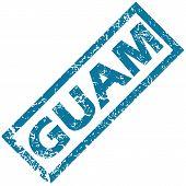 Guam rubber stamp