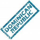 Dominican Republic rubber stamp