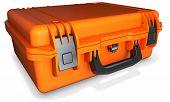 3D Orange Hard Case