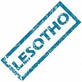 Lesotho rubber stamp