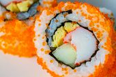 stock photo of masago  - extreme close - JPG
