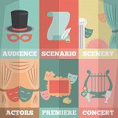 Theatre Poster Mini Set