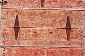Red Wooden Door Background