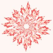 Star Abstract Pink