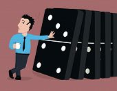 Toppling the dominoes