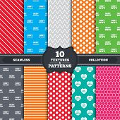 pic of mans-best-friend  - Seamless patterns and textures - JPG