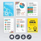 picture of main idea  - Brochure design and A4 flyers - JPG