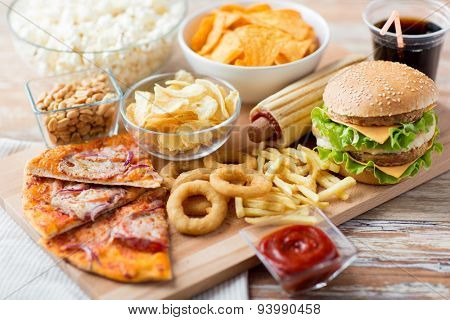 fast food and unhealthy eating