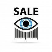 pic of barcode  - Template icon - JPG