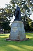 stock photo of king  - John Forrest statue in Kings Park Perth honors the first Premier of Western Australia and the first President of the Kings Park Board - JPG