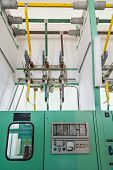 picture of electric station  - Electric connection lines - JPG
