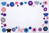 pic of embellish  - a coloful frame made by stars diferent kind of embellishment - JPG