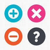 picture of faq  - Circle buttons - JPG