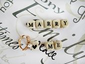 image of marriage proposal  - Marriage proposal  - JPG