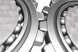 foto of stelles  - 3D Render Stell Gears concept  - JPG