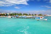 Puerto Juarez Cancun Quintana Roo Tropical Boats