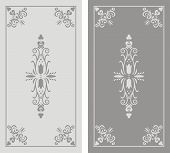 Pattern Of Sandblasted Window.eps
