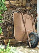Old Wagon Outside