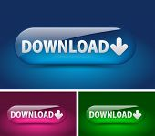 Web Download Icon