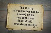Постер, плакат: TOP 40 Aphorism by Karl Heinrich Marx 1818 1883 German philosopher sociologist economist
