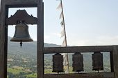 Montefeltro (marches, Italy), Landscape From Pennabilli (urbino) And Tibetan Bells