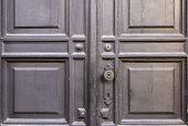 Background, Door, Wood, Board, Old, Crack, Paint, Lock, Keyhole, Door Handle, Pattern, Square, Decor poster