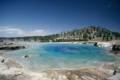 Geothermal Pool, Yellowstone National Park