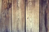 Wooden Wall Planking Vertical Texture. Rustic Shabby  Background. Weathered Vintage Surface. Rough E poster