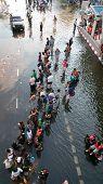 Monsoon Flooding In Bangkok, November 2011