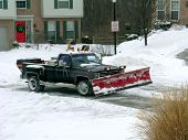 Winter Snow Plowing