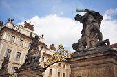 Prague Castle Gates