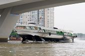 Hydrofoil Boat On Saigon River