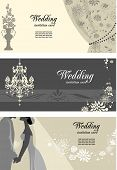 Wedding cards with space for text