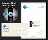pic of web template  - Corporate Vector Business Template 11 - JPG