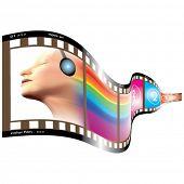 Vector Wavy Film