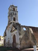 Vintage Ancient Church In Trinidad
