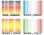 Barcode Europe Nations