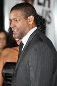 HOLLYWOOD - JAN 11:  Denzel Washington attends The Book of Eli premiere on January 11 2010 at Grauma