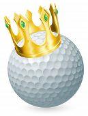 König von golf