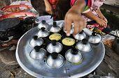 Dessert Mortar Pan Cooking Market Thailand