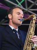Jeroen Van Genuchten Plays Tenor Sax