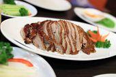 Slices Of Peking Duck