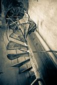 verlassene Treppen