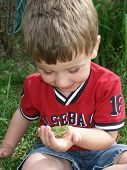 Collin With Frog2